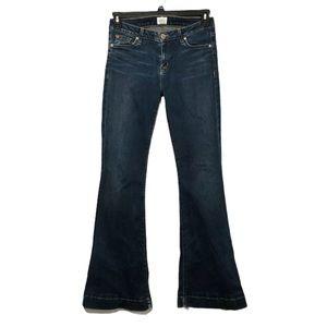Hudson Jeans Ferris flap flare hippie disco boho